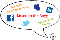 Social CRM lets you listen to the buzz